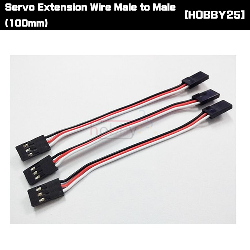 [서보 연장선] Servo Extension Wire Male to Male (100mm) [SERVO-MM10]