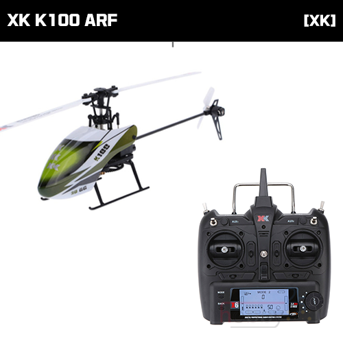 [XK] K100 6CH FLYBARLESS HELICOPTER (ARF) [K100]] (* 전파인증 완료*)