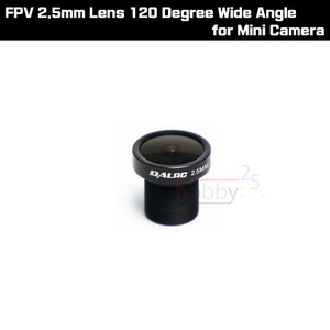 [DalRC] FPV 2.5mm Lens 120 Degree Wide Angle for Mini Camera