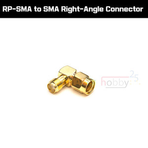 [어댑터] RP-SMA to SMA Right-Angle Connector [ST66214]