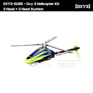[OXY] OXY3-QUBE - Oxy 3 Helicopter Kit 3 Head + 3 Head System