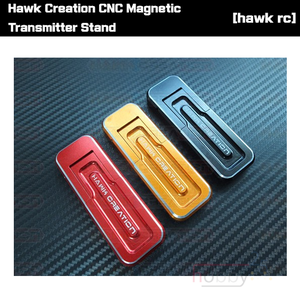 [조종기 거치대] Hawk Creation CNC Magnetic Transmitter Stand [HAWKCNCTX]