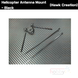 Helicopter Antenna Mount - Black [MK6012]